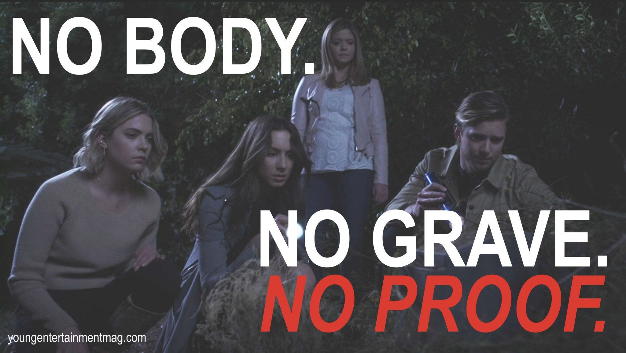 Pretty Little Liars: No body